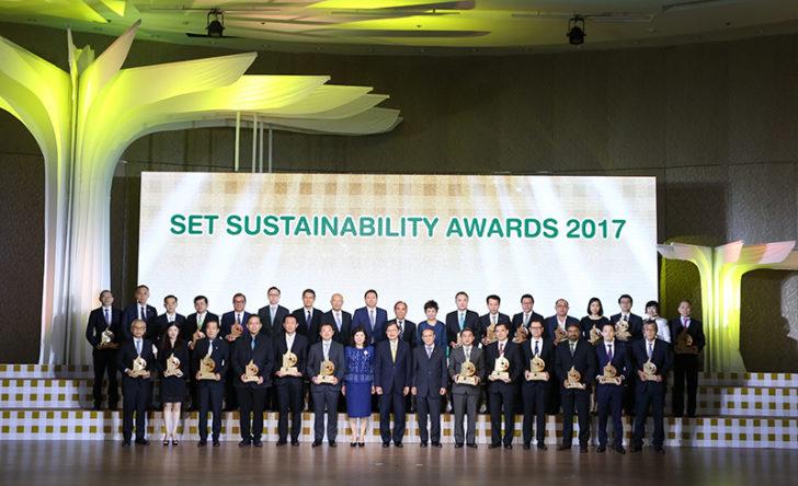 รางวัลด้านความยั่งยืน 24 บจ.ก้าวสู่ธุรกิจต้นแบบของไทย