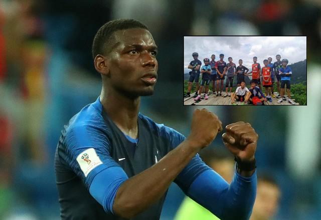 """แด่ฮีโร่ทุกคน! """"ป๊อกบา"""" อุทิศชัยชนะฝรั่งเศสเหนือเบลเยียมให้ทีม """"หมูป่า FC"""""""