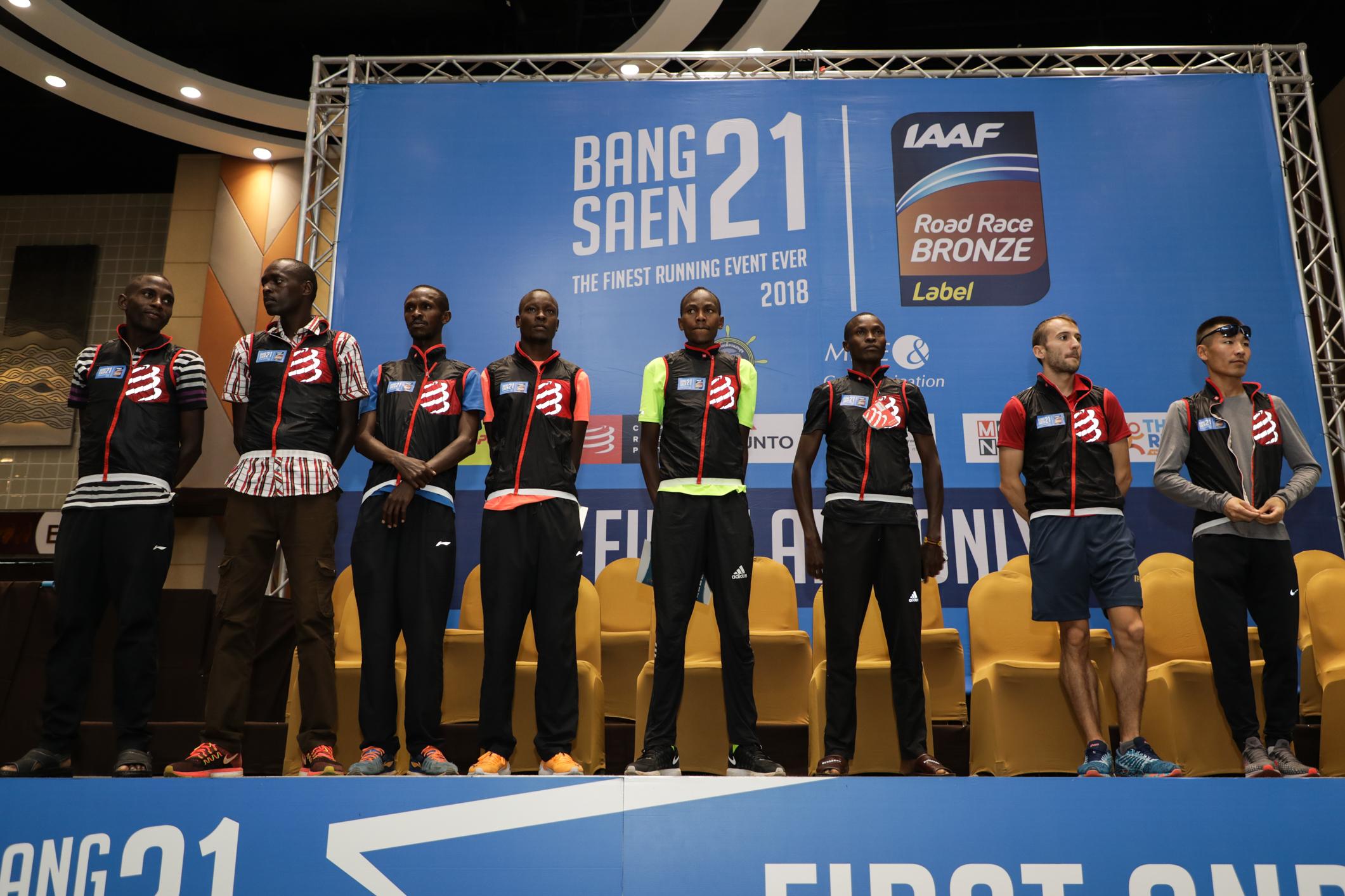 """""""บางแสน21 ฮาล์ฟมาราธอน 2018"""" งานวิ่งมาตรฐานระดับโลก IAAF Bronze Label นักวิ่งระดับโลกตบเท้าร่วมทำลายสถิติคับคั่ง"""