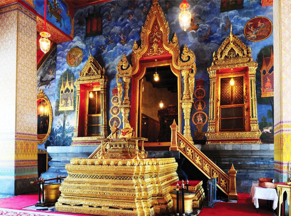 สถานที่สำคัญในพระราชพิธีบรมราชาภิเษก
