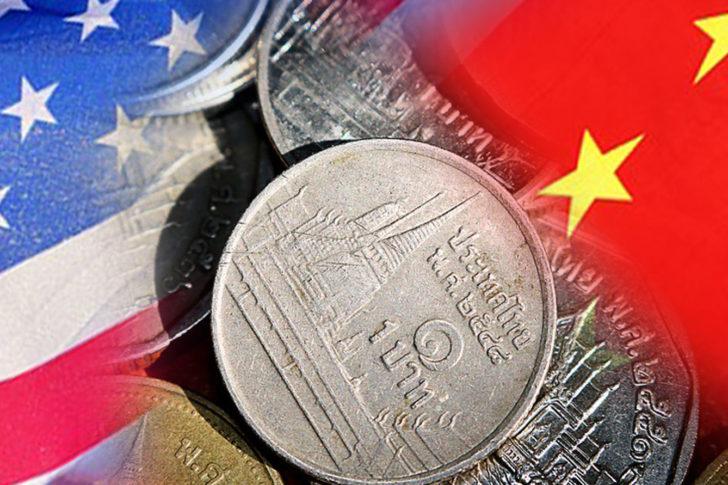 ค่าเงินบาทผันผวน ขณะที่นักลงทุนรอดูการเจรจาทางการค้าระหว่างสหรัฐและจีน