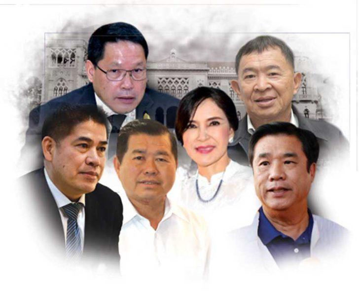 """10 รัฐมนตรีชนักปักหลัง โปรไฟล์เป็นพิษ ฝ่ายค้านจองกฐิน """"ซักฟอก-ถอดถอน"""""""