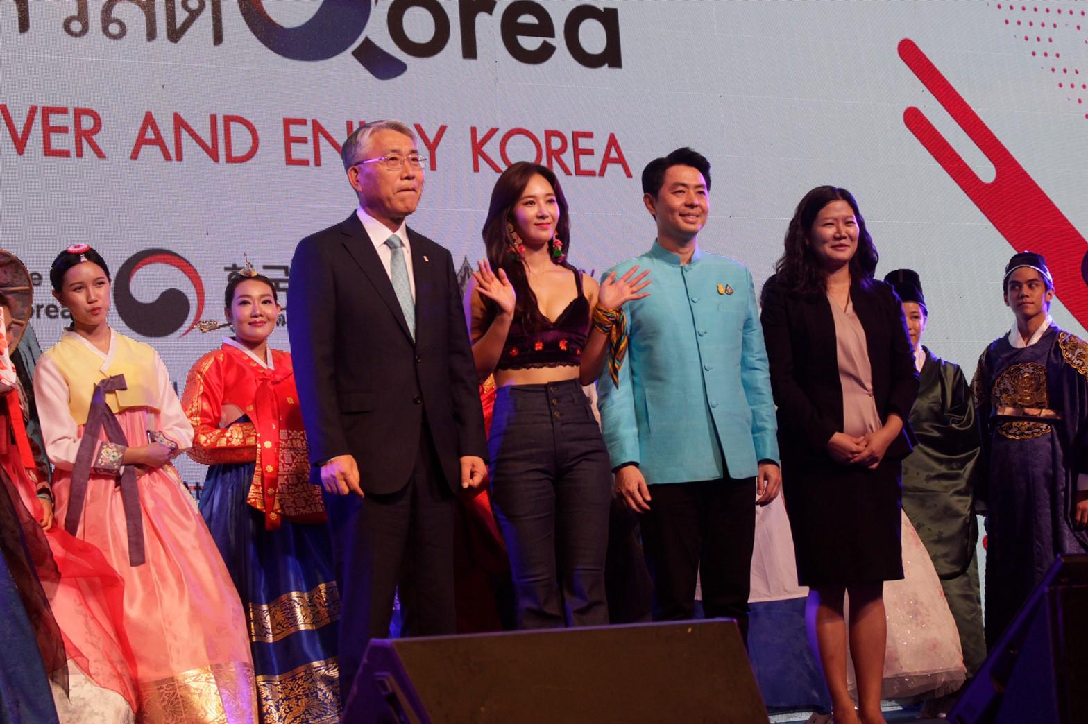 """""""ยูริ"""" นำทีมโชว์สุดพิเศษงาน Annyeong Thailand, Sawasdee Korea 2019 : Discover and Enjoy Korea ทักไทยโซวอน """"คิดถึงมั้ยคะ"""""""