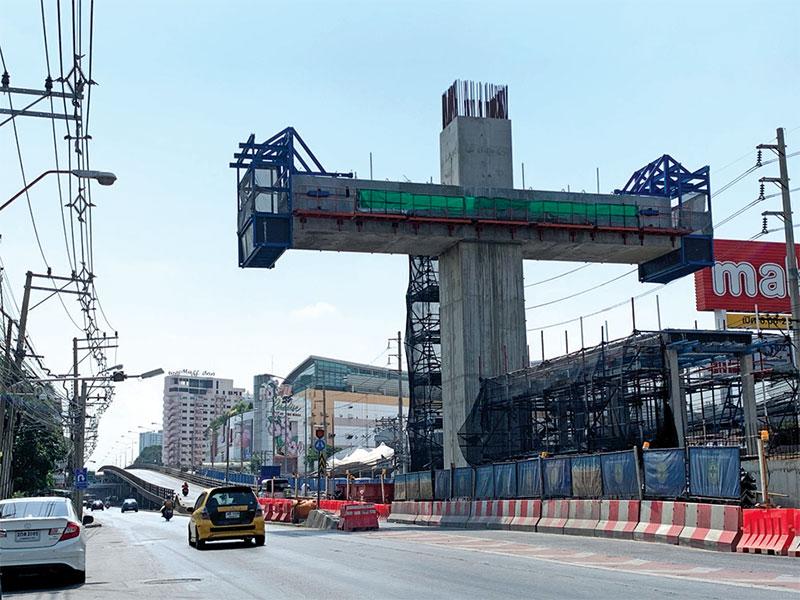 รถไฟฟ้าสีเหลืองติดหล่มสะพานบางกะปิ กทม.จี้รื้อสร้างใหม่กระทบต้นทุนบีทีเอสเพิ่มพันล้าน