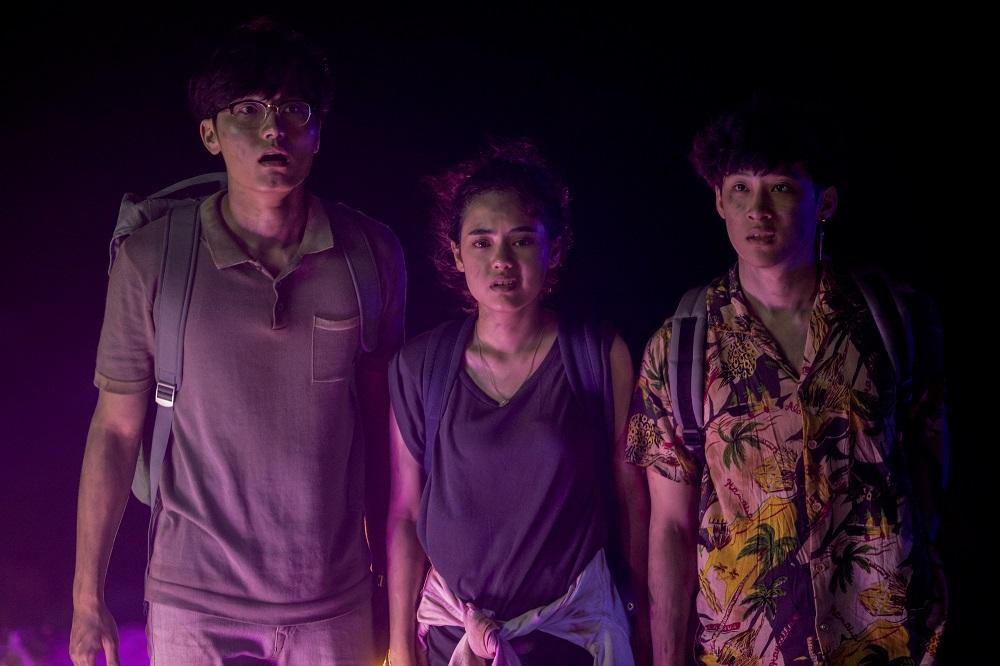 """ภาพจาก """"เคว้ง"""" ซีรีส์ไทยโดย Netflix"""