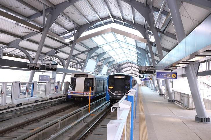 4 ธันวาคมนี้ รฟม. และ BEM พร้อมเปิดให้ประชาชนทดลองใช้บริการรถไฟฟ้าสายสีน้ำเงิน ส่วนต่อขยาย จากสถานีบางโพ – สถานีสิรินธร ฟรี