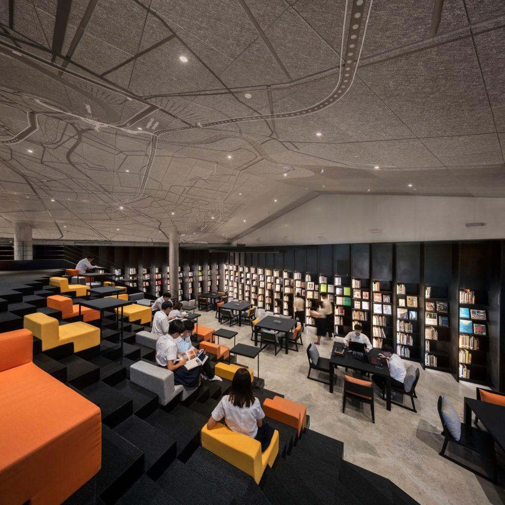 ห้องสมุดใหม่ สถาปัตย์ จุฬาฯ คว้ารางวัลชนะเลิศอันดับ 1 ของโลก ด้านการออกแบบจาก Interior Design Magazine นิวยอร์ก