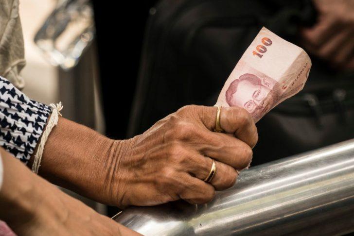 ภาพประกอบข่าว ค่าเงินบาท เงินบาท ธนบัตร เศรษฐกิจ
