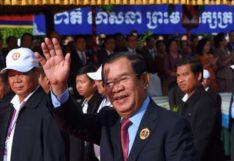 สมเด็จฯ ฮุน เซน นายกรัฐมนตรีกัมพูชา