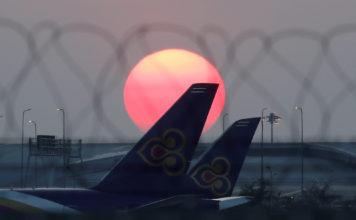 ภาพเครื่องบินประกอบข่าว การบินไทย
