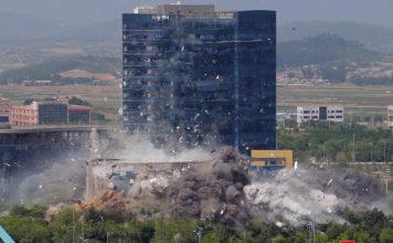 เกาหลีเหนือระเบิดศูนย์ประสานงานเกาหลีใต้