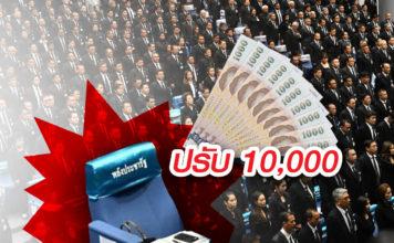 พรรคพลังประชารัฐ โดดสภา ปรับ10000 บาท
