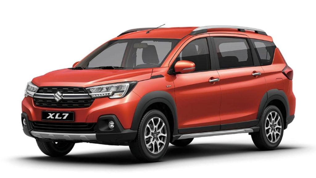 Suzuki XL7 มีให้เลือก 4 สี