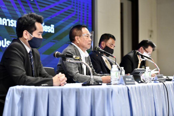 พล.ต.อ.ดร.สมยศ พุ่มพันธุ์ม่วง นายกสมาคมกีฬาฟุตบอลแห่งประเทศไทยฯ