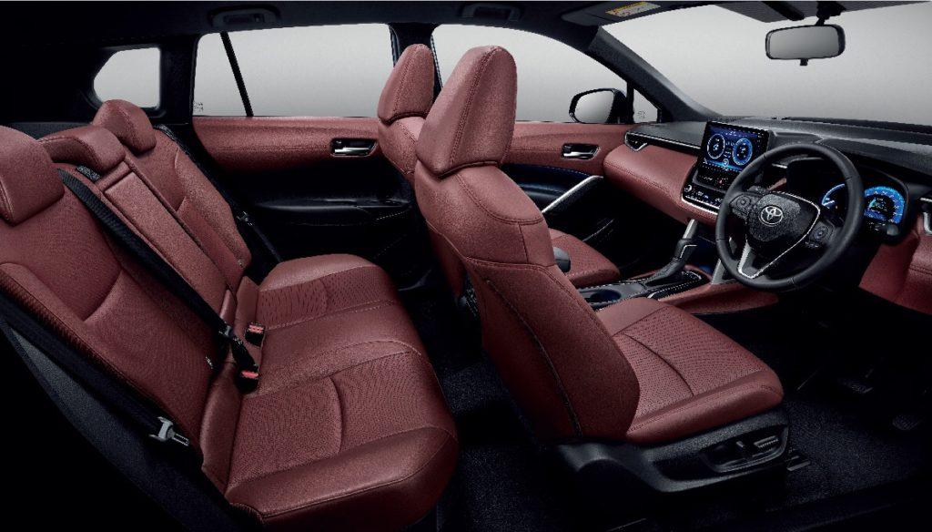 ภายใน Toyota Corolla Cross