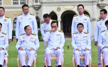 นายกรัฐมนตรี ระหว่างรอคระรัฐมนตรีครบทีม