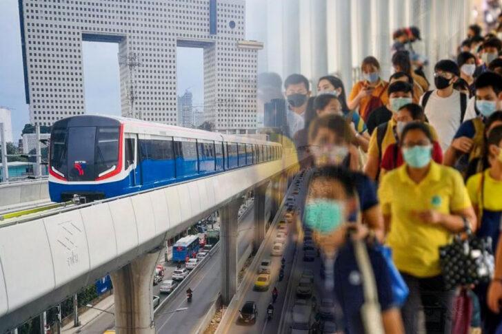 รถไฟฟ้าสายสีเขียว-ประชาชน