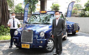 เอเชียแค็บส่งแท็กซี่ไฟฟ้าบุกต่างประเทศ