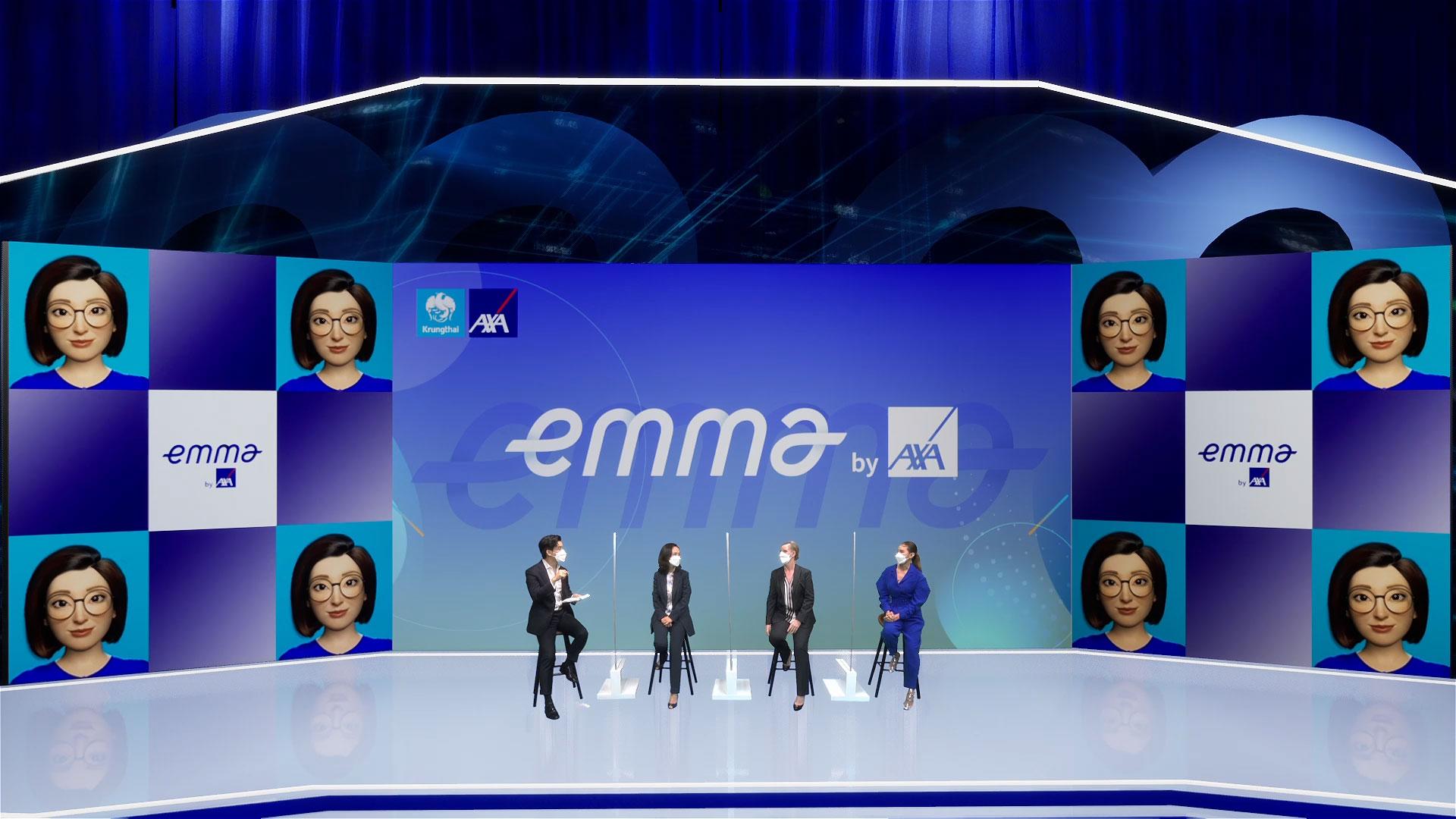 """กรุงไทยแอกซ่า เปิดตัวแอปฯ """"Emma by AXA"""" ผู้ช่วยส่วนตัวด้านสุขภาพ – การเงิน"""