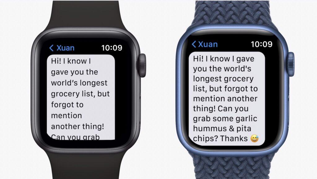 Apple Watch ซี่รี่ย์ 7