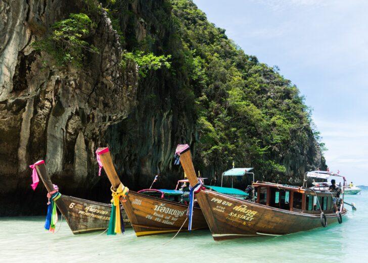 จ.กระบี่-เกาะพีพี ประกาศยกระดับมาตรการป้องกันโควิด มีผล 15 ก.ย. นี้
